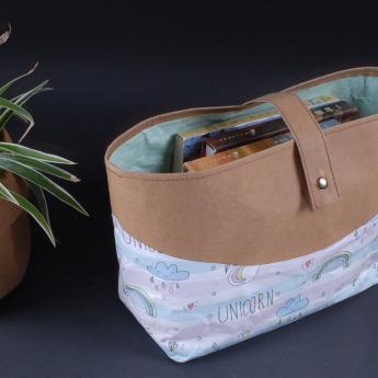 Непромокаемая бумажная дамская сумка Фото 21