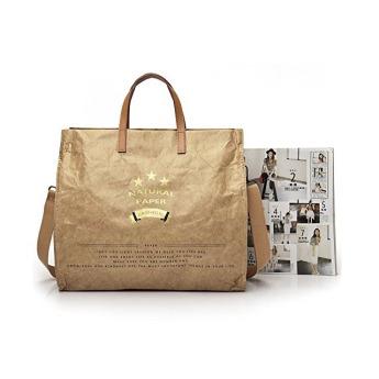 Непромокаемая бумажная деловая сумка Фото 3