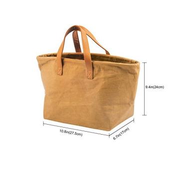 Непромокаемая бумажная классическая сумка Фото 14