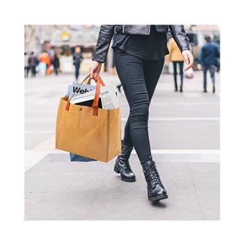 Непромокаемая бумажная классическая сумка Фото 18