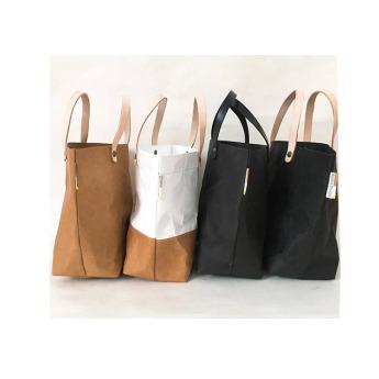 Непромокаемая бумажная классическая сумка Фото 3