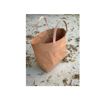 Непромокаемая бумажная классическая сумка Фото 4