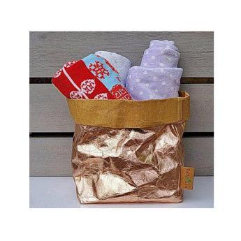 Непромокаемая бумажная многоразовая корзинка Фото 10