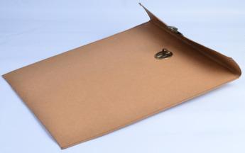 Непромокаемая бумажная папка А4 для документов Фото 2