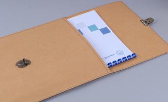 Непромокаемая бумажная папка для документов Фото 4