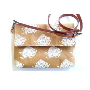 Непромокаемая бумажная складная дамская сумка Фото 1