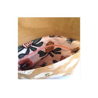 Непромокаемая бумажная складная дамская сумка Фото 3