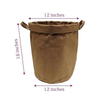Непромокаемая бумажная складная корзина Фото 5