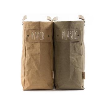 Непромокаемая бумажная складная сумка Фото 12