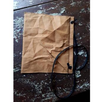 Непромокаемая бумажная складная сумка Фото 2