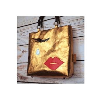 Непромокаемая бумажная складная сумка Фото 25