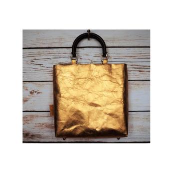 Непромокаемая бумажная складная сумка Фото 26