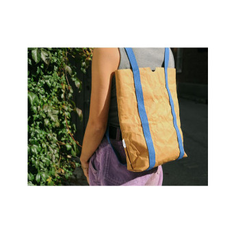 Непромокаемая бумажная складная сумка Фото 4