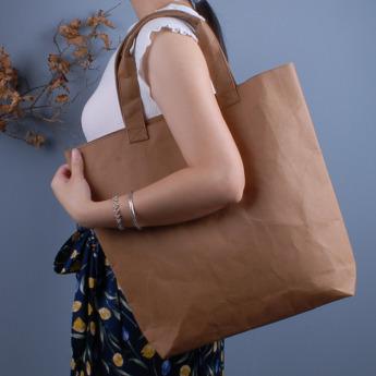 Непромокаемая бумажная сумка Фото 1