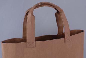 Непромокаемая бумажная сумка Фото 3