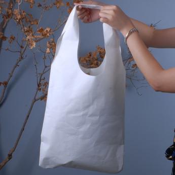Непромокаемая бумажная сумка авоська Фото 1