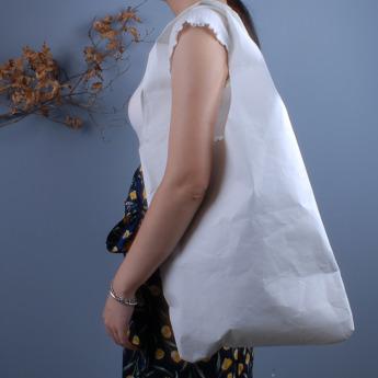 Непромокаемая бумажная сумка авоська Фото 2