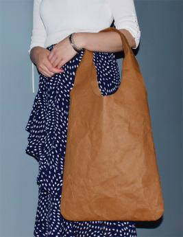 Непромокаемая бумажная сумка авоська Фото 3