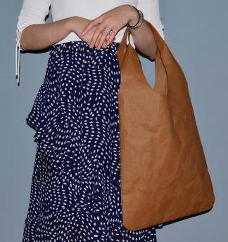 Непромокаемая бумажная сумка авоська Фото 4