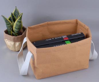 Непромокаемая бумажная сумка бокс для хранения Фото 1