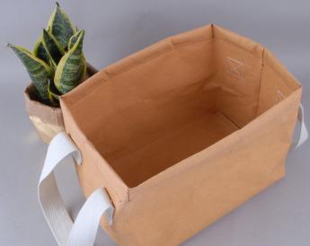 Непромокаемая бумажная сумка бокс для хранения Фото 3