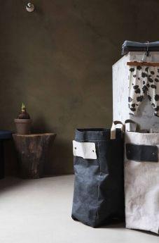 Непромокаемая бумажная сумка бокс для хранения Фото 4
