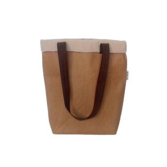Непромокаемая бумажная сумка с длинными ручками Фото 1