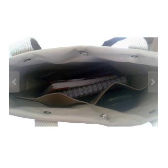 Непромокаемая бумажная сумка с длинными ручками Фото 6