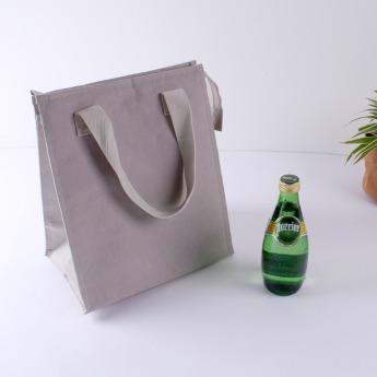 Непромокаемая бумажная сумка с тканевыми ручками Фото 17