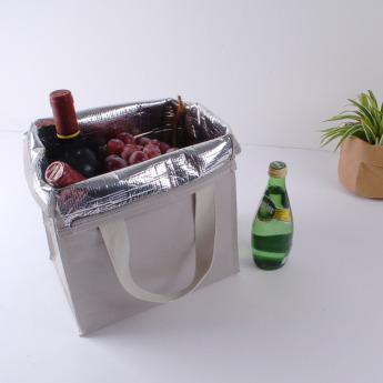 Непромокаемая бумажная сумка с тканевыми ручками Фото 19
