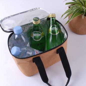 Непромокаемая бумажная сумка холодильник Фото 2