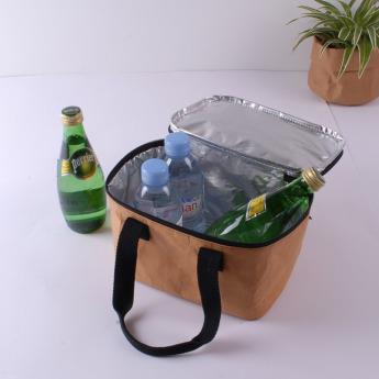 Непромокаемая бумажная сумка холодильник Фото 3