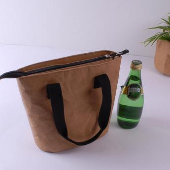 Непромокаемая бумажная сумка холодильник для ланчей Фото 1