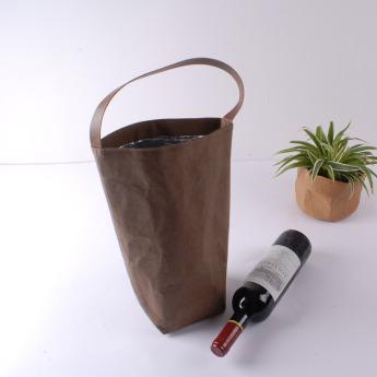 Непромокаемая бумажная термо сумка Фото 1