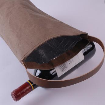 Непромокаемая бумажная термо сумка Фото 2