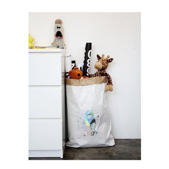Непромокаемый бумажный многоразовый мешок для хранения игрушек Фото 3