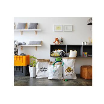 Непромокаемый бумажный многоразовый мешок для хранения игрушек Фото 4