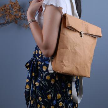 Непромокаемый бумажный рюкзак Фото 1