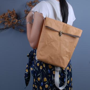 Непромокаемый бумажный рюкзак Фото 2