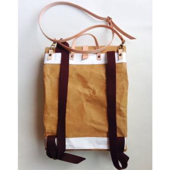 Непромокаемый бумажный рюкзак Фото 39