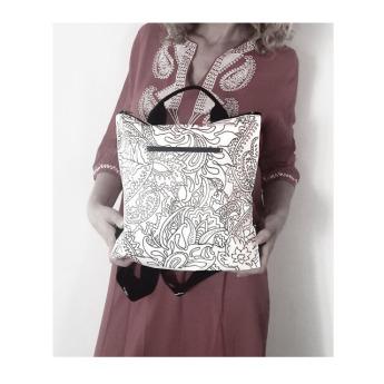 Непромокаемый бумажный рюкзак Фото 7