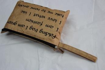 Непромокаемый бумажный складной рюкзак Фото 1