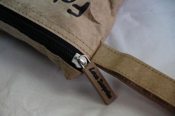 Непромокаемый бумажный складной рюкзак Фото 2