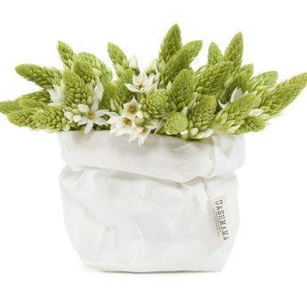 Непромокаемый бумажный цветочный горшок или ваза Фото 10