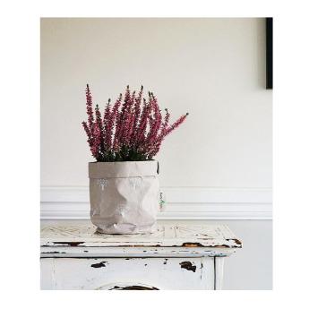 Непромокаемый бумажный цветочный горшок или ваза Фото 19