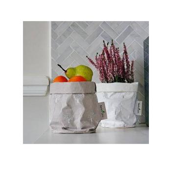 Непромокаемый бумажный цветочный горшок или ваза Фото 21