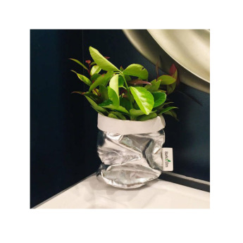 Непромокаемый бумажный цветочный горшок или ваза Фото 23