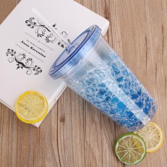 Пластиковый стакан 450 мл с сохраняющим холод эффектом Фото 3