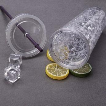 Пластиковый стакан 450 мл с сохраняющим холод эффектом Фото 6