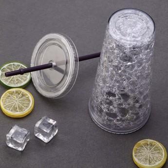 Пластиковый стакан 450 мл с сохраняющим холод эффектом Фото 8